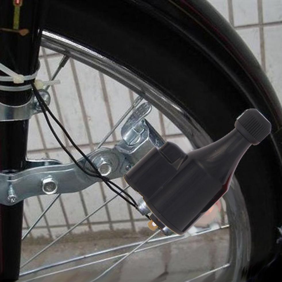 Universal Portable Bicycle Dynamo Lights Set Bike Cycle Safety Headlight Tail
